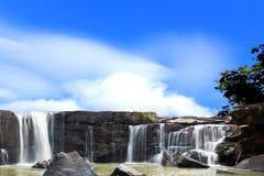 De schoonheid van de watervallen. Royalty-vrije Stock Afbeelding