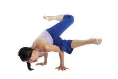 De Schoonheid van de yoga Royalty-vrije Stock Foto's