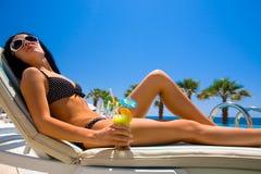 De Schoonheid van de zomer Royalty-vrije Stock Foto's