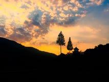 De schoonheid van de zonsondergang Royalty-vrije Stock Fotografie