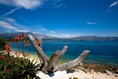 De schoonheid van het eiland royalty-vrije stock fotografie