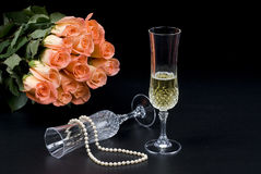 De schoonheid van het huwelijk Stock Foto