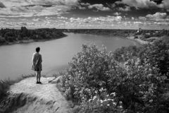 De schoonheid van het inheemse land Stock Fotografie