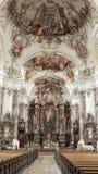 De Schoonheid van het kerkaltaar - Overweldigend Binnenland royalty-vrije stock afbeeldingen