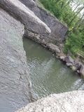 De schoonheid van het waterlandschap vrij stock foto's