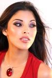 De Schoonheid van Latina Stock Fotografie