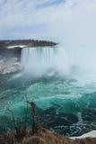 De schoonheid van Niagara-Dalingen Stock Foto's