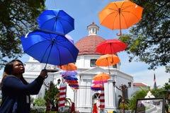 De schoonheid van de oude stad van Semarang Stock Foto's