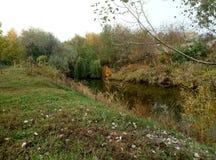 De schoonheid van de rivier Kilchen stock afbeeldingen