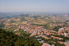 De schoonheid van San Marino Stock Foto