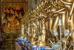 De schoonheid van tempels in Thailand stock afbeeldingen