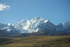 De schoonheid van Tibet van China van Hoh Xil man nr - - land Stock Fotografie