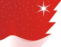 De schoonheidslandschap van Kerstmis Royalty-vrije Stock Fotografie