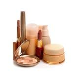 De schoonheidsmiddelen van de make-up Stock Afbeeldingen