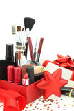 De schoonheidsmiddelen van Kerstmis royalty-vrije stock foto