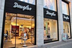 De schoonheidsmiddelenopslag van Douglas Royalty-vrije Stock Foto's