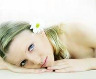 De schoonheidsportret van Wellness Stock Foto