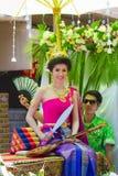 De schoonheidswedstrijd van Songkran Royalty-vrije Stock Foto's