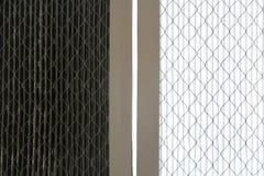 De schoonmakende filters van de lucht Stock Fotografie