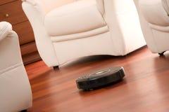 De schoonmakende robot van het huis Stock Foto