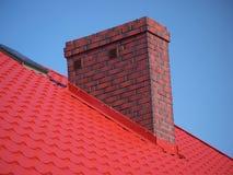 De schoorsteen van de baksteen Stock Foto's
