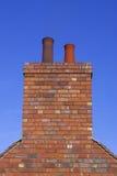 De schoorsteen van de baksteen Stock Afbeeldingen