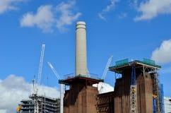 De schoorsteen van de Batterseakrachtcentrale Stock Afbeeldingen