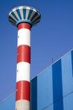 De schoorsteen van de industrie Stock Foto's