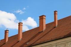 De Schoorsteen van Zagreb Royalty-vrije Stock Afbeelding