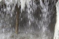 De schoorsteenwaterval Royalty-vrije Stock Fotografie