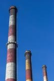De schoorstenen Stock Afbeelding