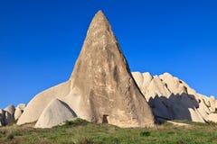 De schoorstenen van de fee in Cappadocia, Turkije Royalty-vrije Stock Foto's