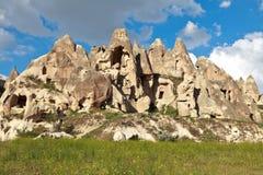 De schoorstenen van de fee in Cappadocia, Turkije Royalty-vrije Stock Afbeeldingen