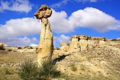 De Schoorstenen van de fee in Cappadocia, Turkije Royalty-vrije Stock Afbeelding