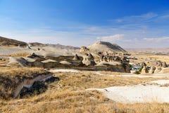 De Schoorstenen van de Pasabagfee in Cappadocia Turkije Stock Foto's