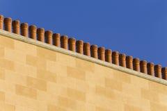 De schoorstenen van het terracotta stock foto
