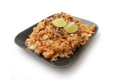 De schotel van de rijst stock afbeeldingen