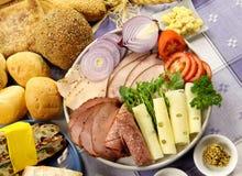 De Schotel van de sandwich Royalty-vrije Stock Foto's