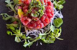 De schotel van het tonijntandsteen Royalty-vrije Stock Foto