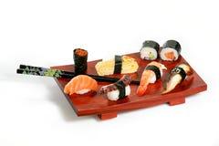 De schotel van sushi Stock Afbeelding