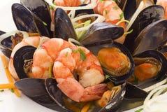De Schotel van zeevruchten Royalty-vrije Stock Foto