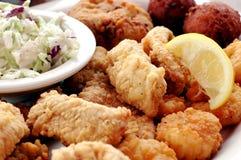 De Schotel van zeevruchten Stock Foto