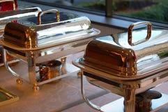 De Schotels van Cheffing Royalty-vrije Stock Foto