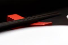 De schotels van sushi royalty-vrije stock afbeelding