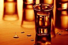 De schoten van de drank stock afbeelding