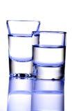 De schoten van Tequila stock fotografie
