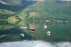 De Schotse Hooglanden stock foto