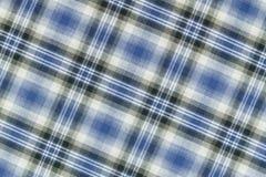 De Schotse Plaid van het geruite Schotse wollen stof. Royalty-vrije Stock Foto
