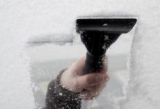 De schraper van het ijs Royalty-vrije Stock Afbeeldingen