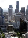 De Schrapers van Seattle Stock Afbeeldingen